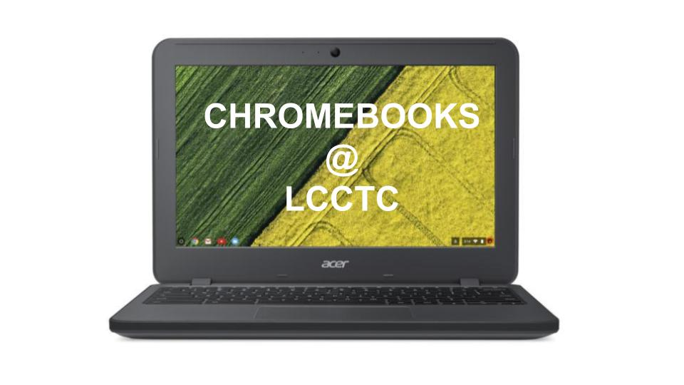 Chromebook Information -