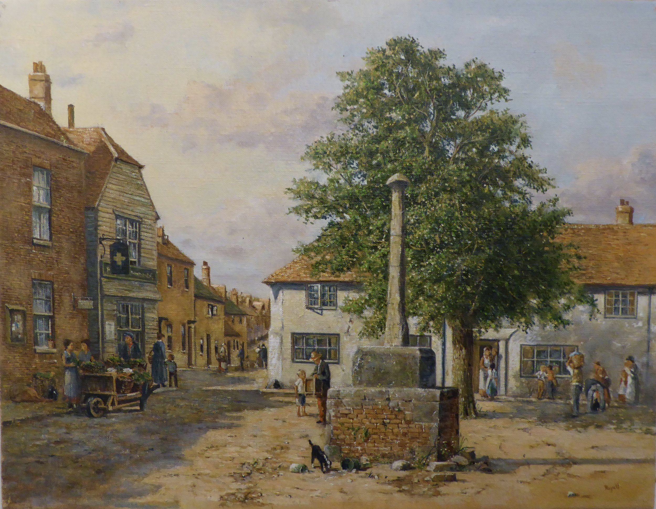 OLD ALFRISTON    18 x 14 inches -  £525