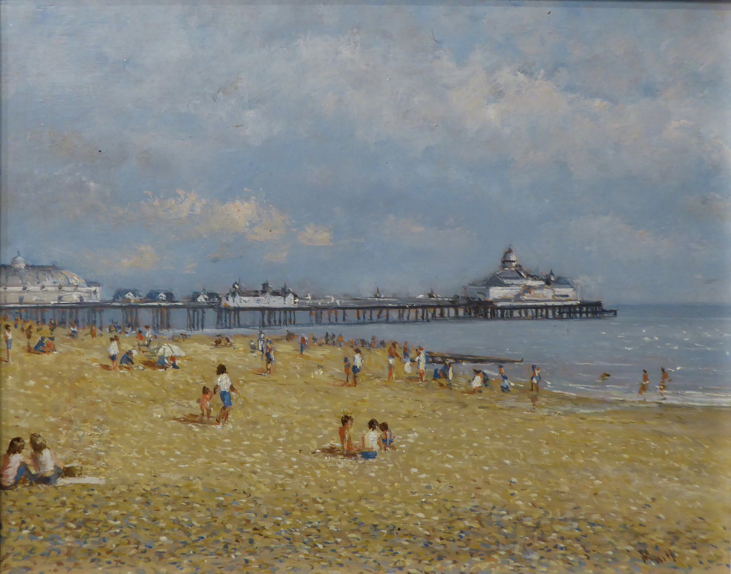 EASTBOURNE PIER   8 x 10 inches -  £195