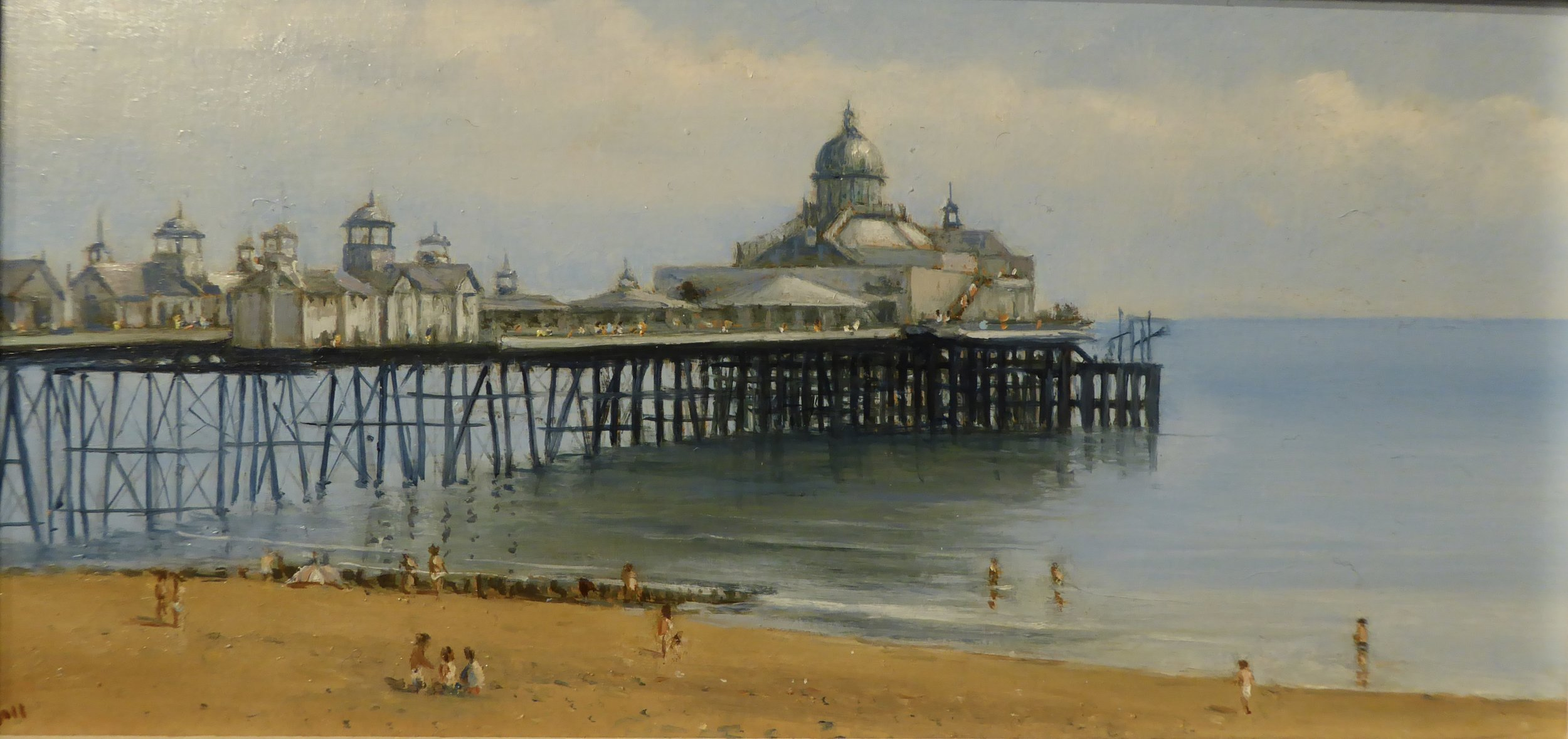 EASTBOURNE PIER    10 x 5 inches -  £195