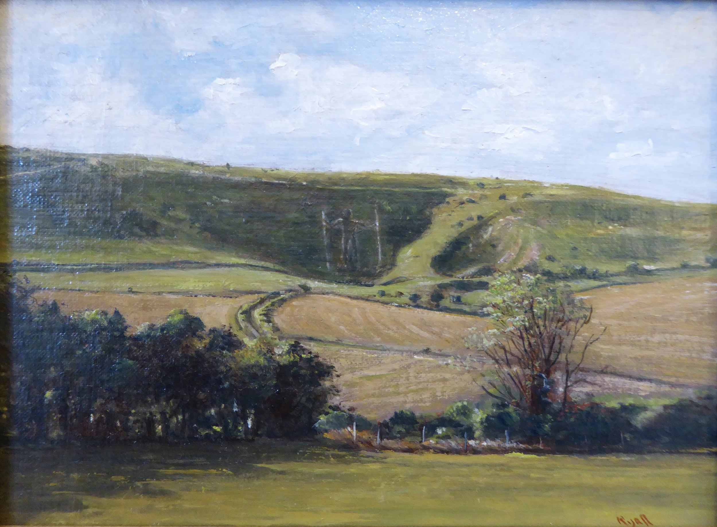 THE LONG MAN OF WILMINGTON    6 x 8 inches -  £175