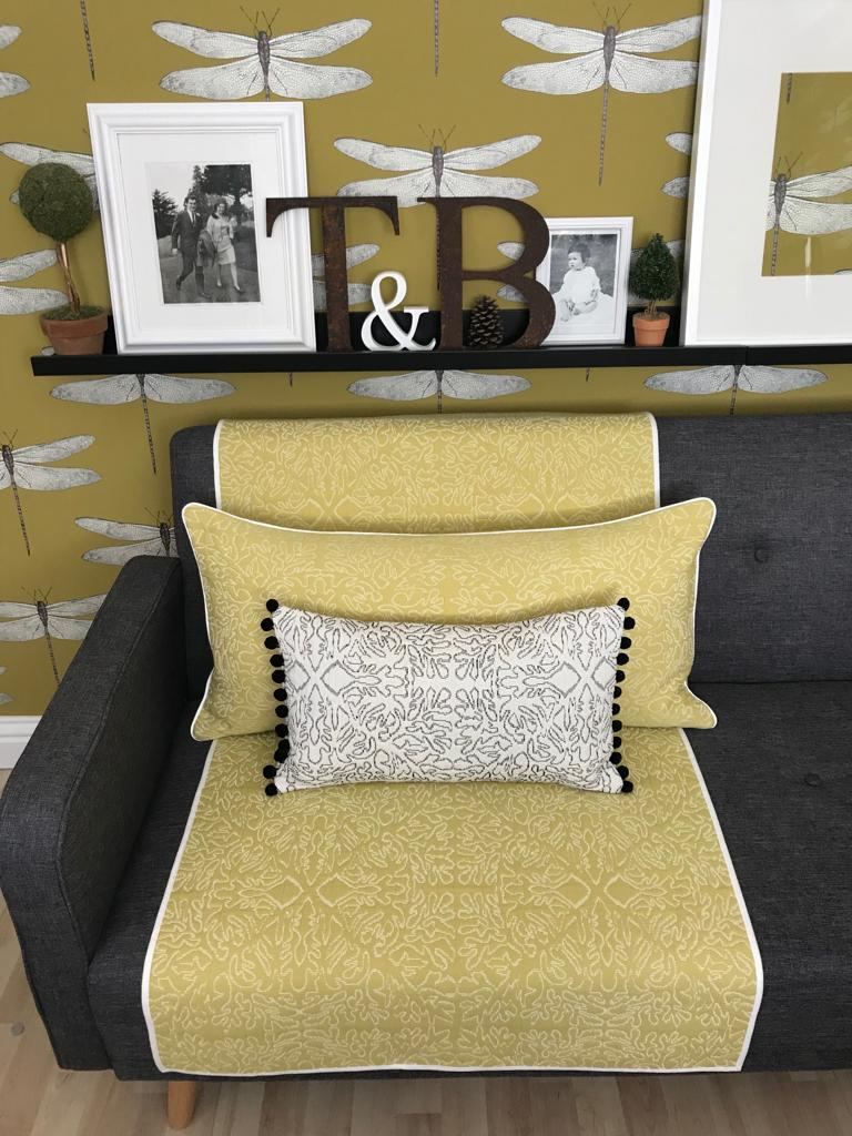 Thelma and Bryan throws cushions and homeware