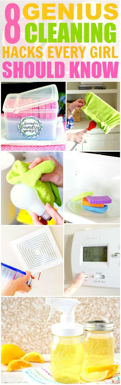 genius cleaning hacks