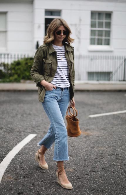 photo credit - emma hill - Http://ejstyle.co.uk/2017/04/style Khaki Jacket.html/