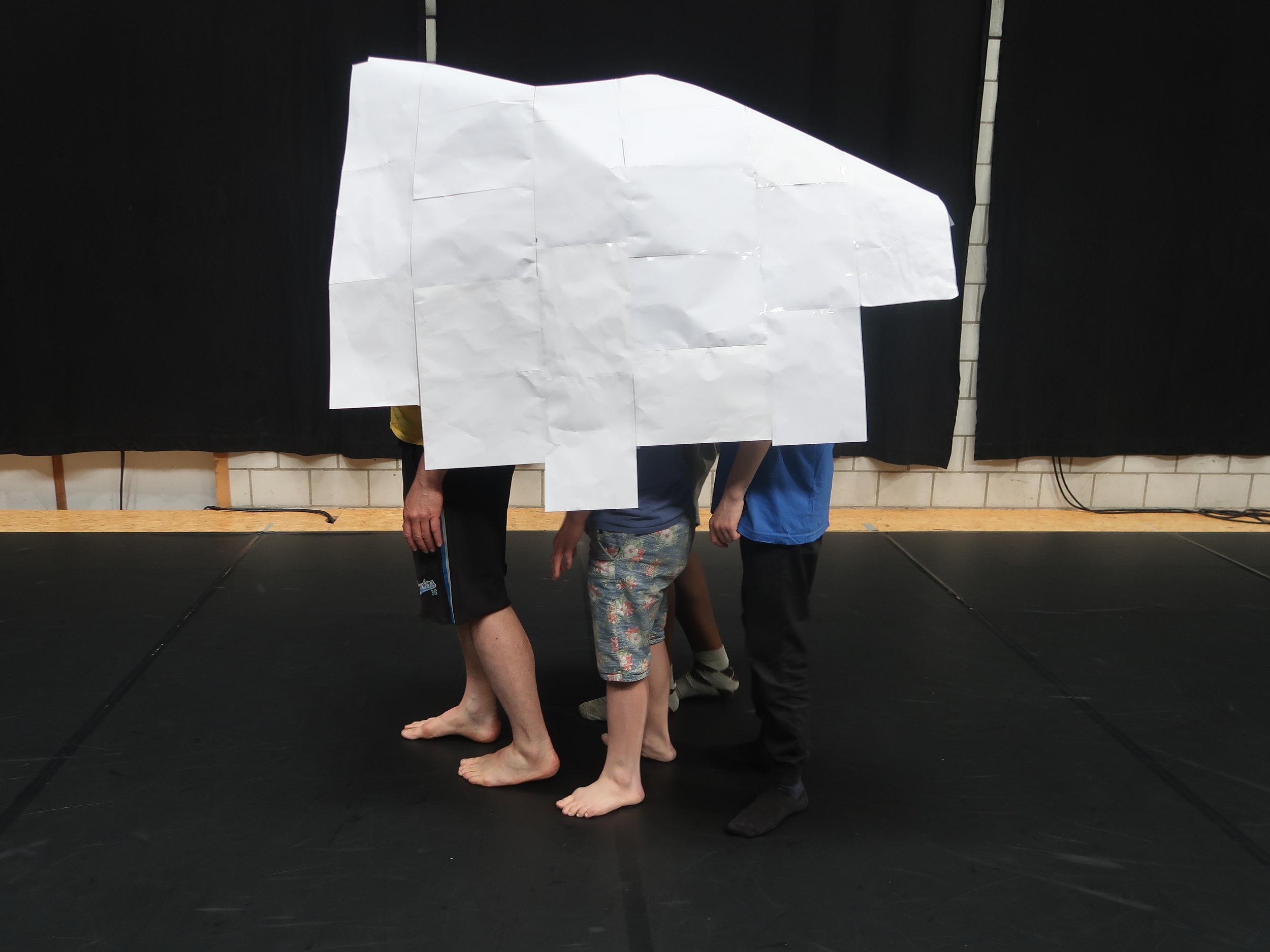 de wachters van (het) papier / open atelier 24 mei 2019