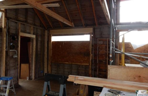artist studio renovation