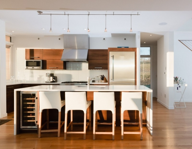 new modern house kitchen