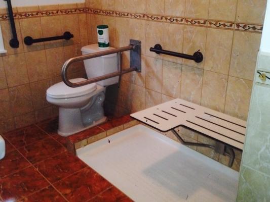 Handicapped Bathroom - RENOVATION