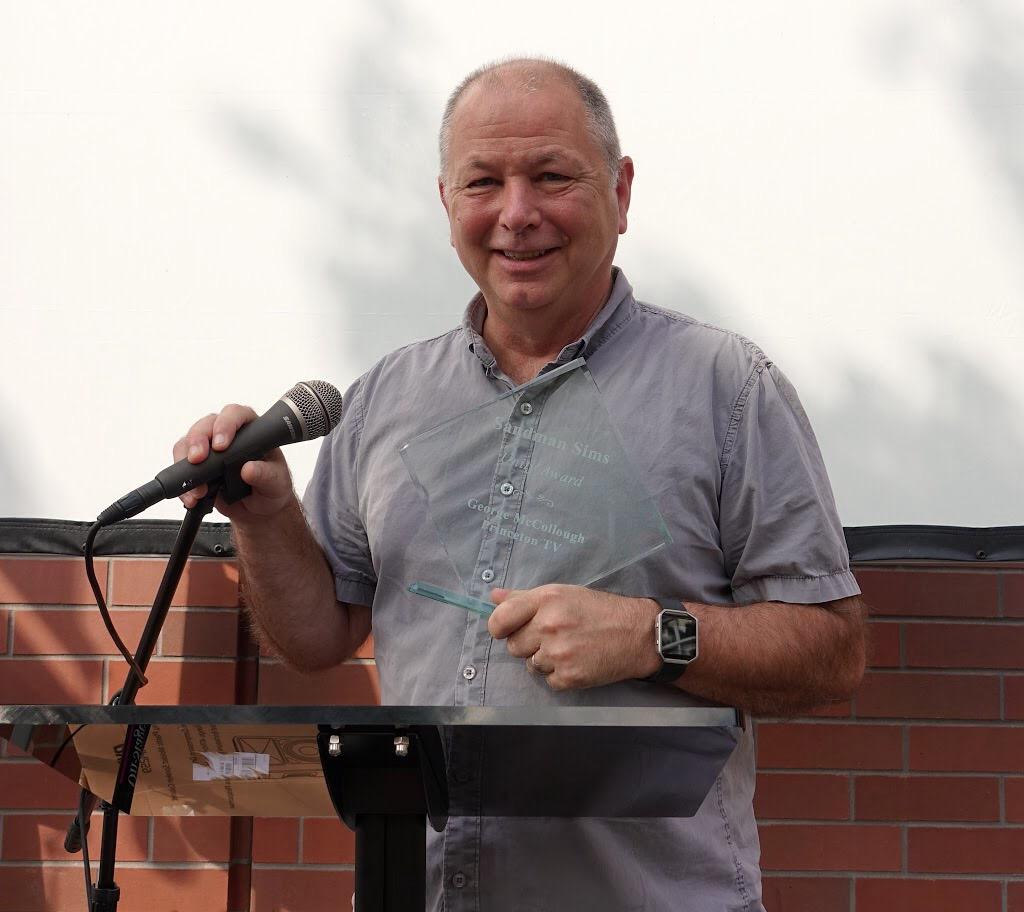 Princeton Community TV executive director George McCollough