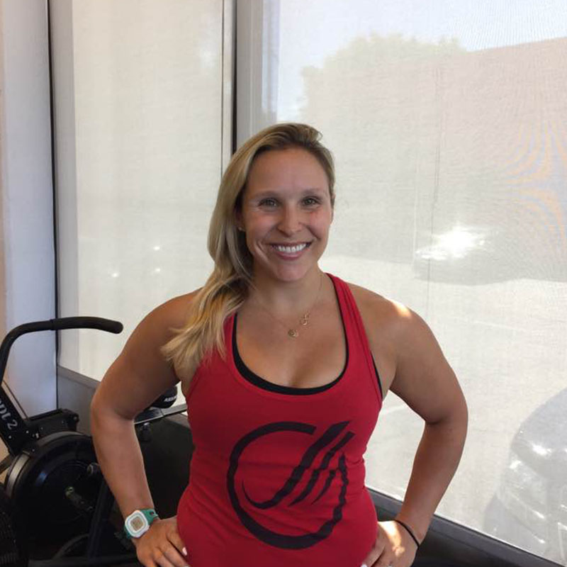 Jess Brauzer   Jess is an American College of Sports Medicine Certified Personal Trainer, with focus on functional and larger compound movements, kettlebell training, fat loss, and HIIT. She also recently coached a local club swim team-Swim Utah for the past two years.