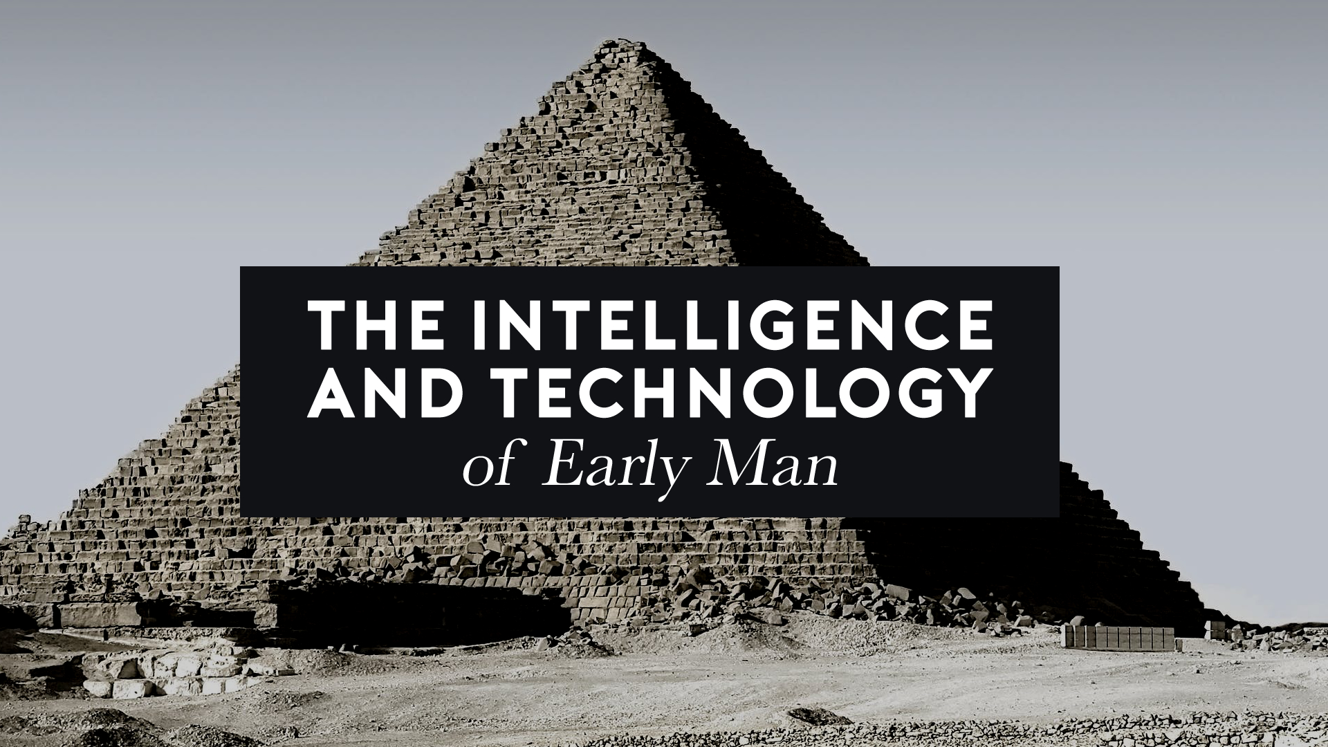 The Intelligence and Technology of Early Man.jpg