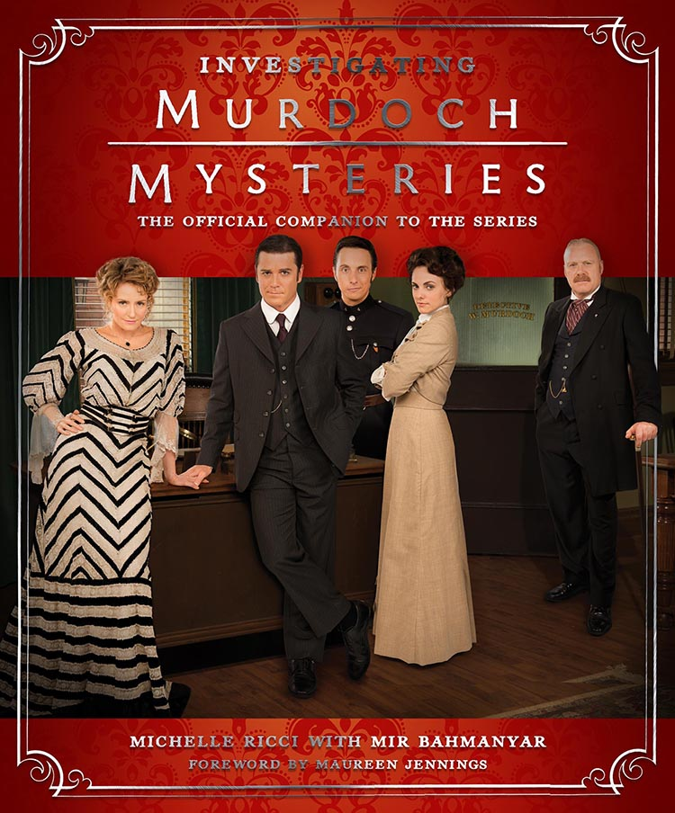 mir bahmanyar, book, Investigating murdoch mysteries