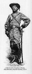 john singleton mosby, civil war