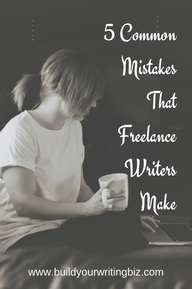 New to freelance writing? Here are five common mistakes that most freelance writers make. Especially in their first year of business. Check out the post so that you can understand what these common mistakes are and how to avoid them.