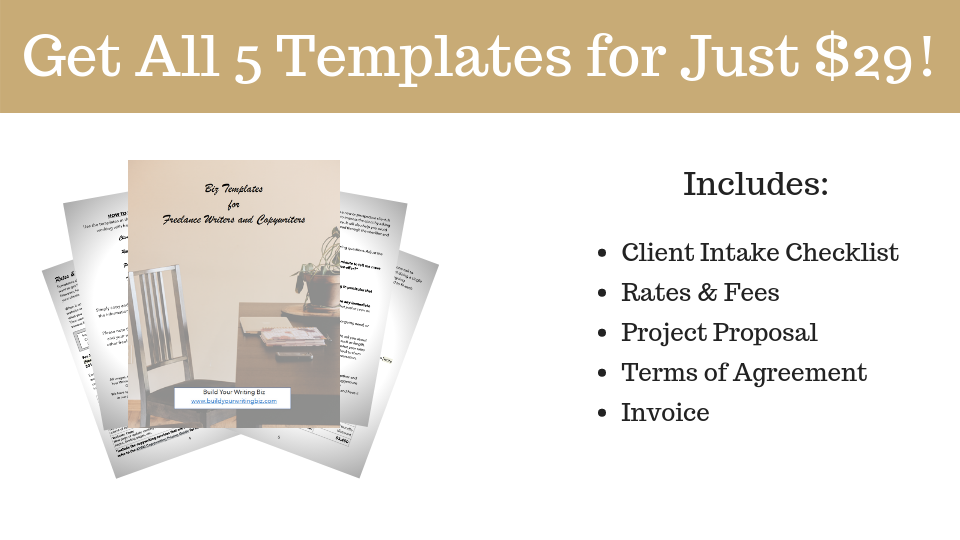 freelance writing templates, business management templates