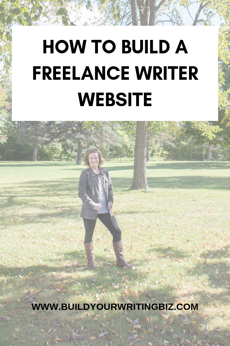 How to build a freelance writer website