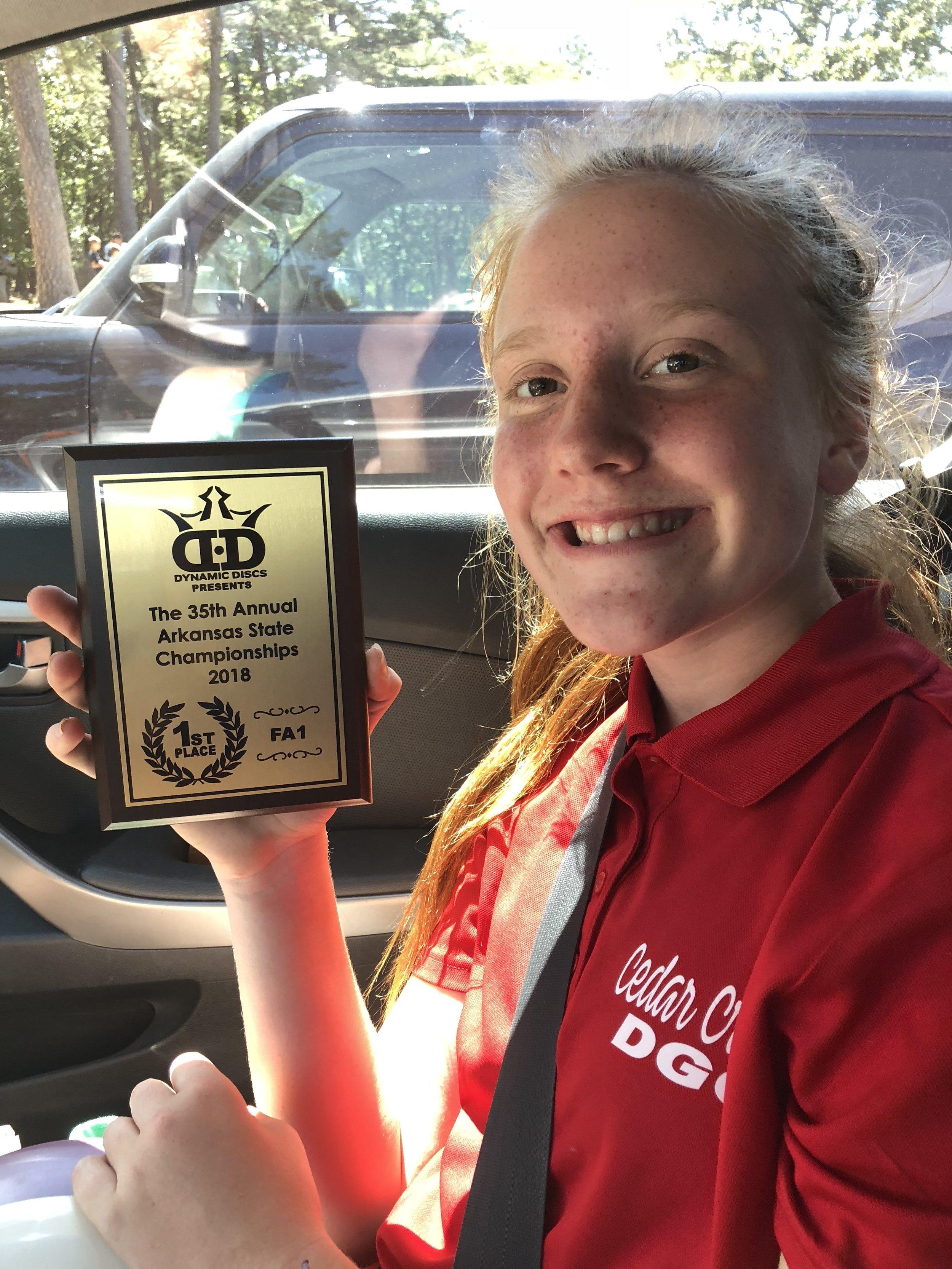 Meet your 2018 Arkansas State Women's Champion