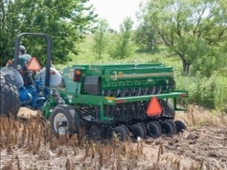 The Bladen County no-till grain drill prevents soil erosion and lessens sedimentation and nutrient loading in streams