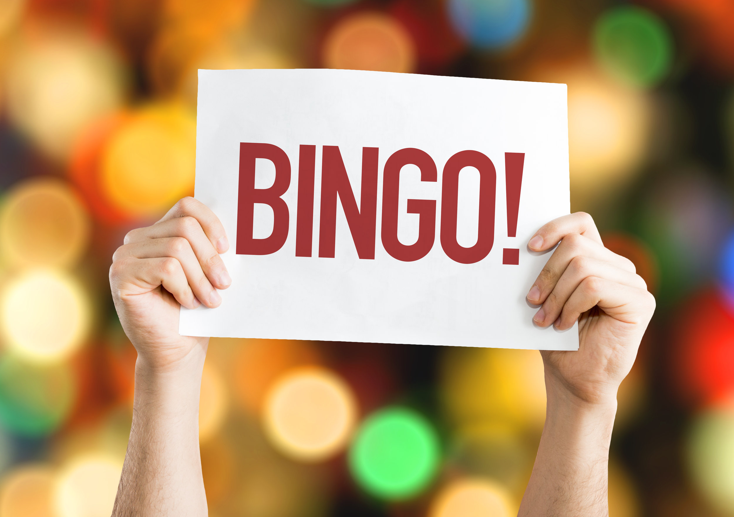 Bingo Every MondAy! - Starts at 7pm with Queen of Hearts drawing at 8:15pm.