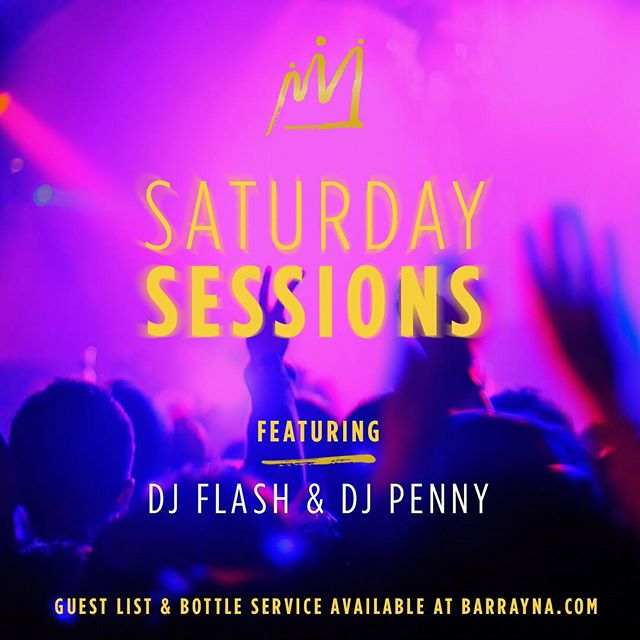 SATURDAY SESSIONS are in with @djflash05 and @djpenny12 👯‍♂️They'll be spinning the best hip hop and club anthems all night long. We don't know about you, but our staff is ready to get our Saturday night on! 🎆🎆🎆🎆🎆🎆 . . . . #barrayna #uptownwaterloo #waterloo #kitchener #bottleservice #kwnightlife #danceparty #itslit #kwawesome #saturday #hennessy #veuveclicquot #belvedere #party #nightlife #bar #instalove #instagood #dance