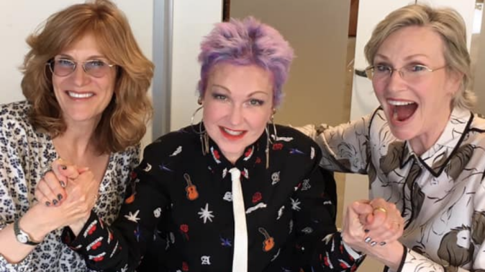 """Jane Lynch and Cyndi Lauper will co-star  in a comedy described as """"kind of a 'Golden Girls' for today."""""""