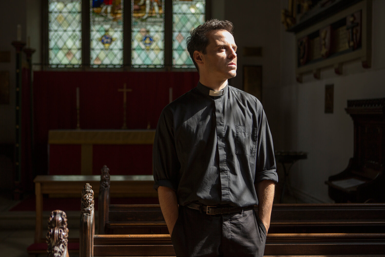 Fleabag hot priest, Andrew Scott, is scheduled to play murderous Talented Mr. Ripley  in an adaptation of  the book  by badass woman author Patricia Highsmith.