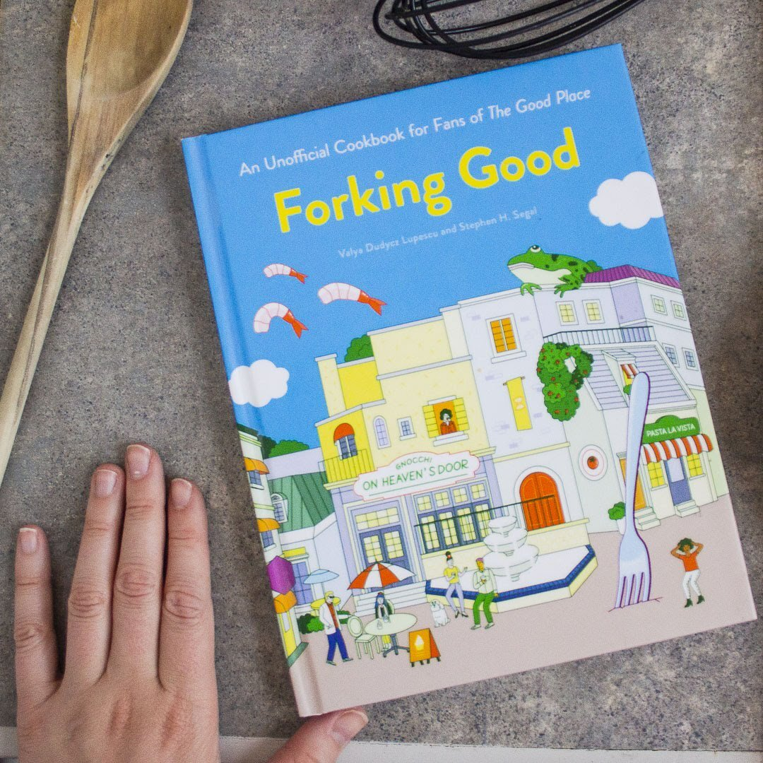Get your copy  of the unofficial cookbook for fans of NBC's The Good Place.