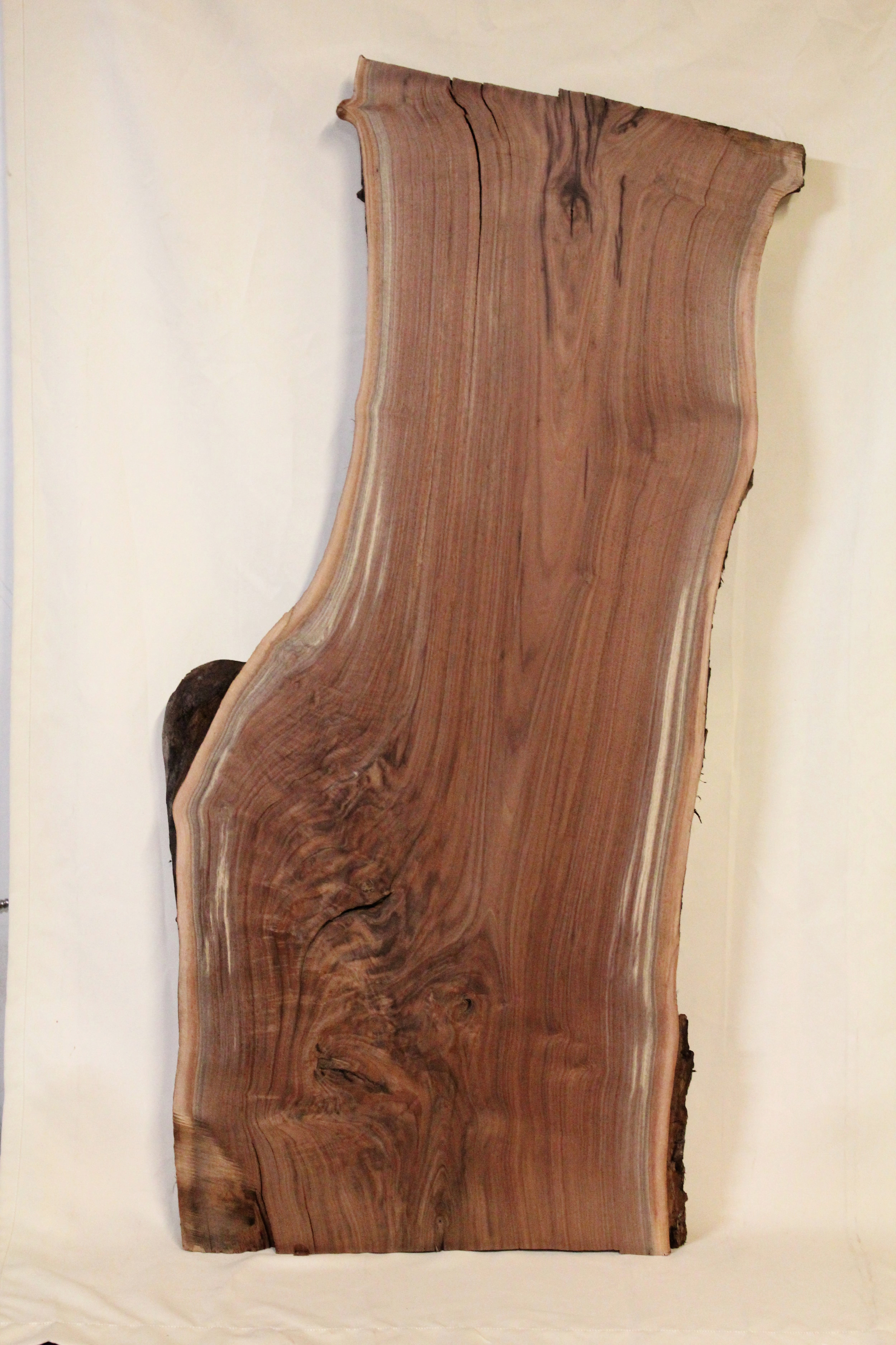 """Walnut 4   This is a long 27"""" x 57"""" slab of Western Black Walnut. This would make a great coffee table, desk, or bar.    See more"""