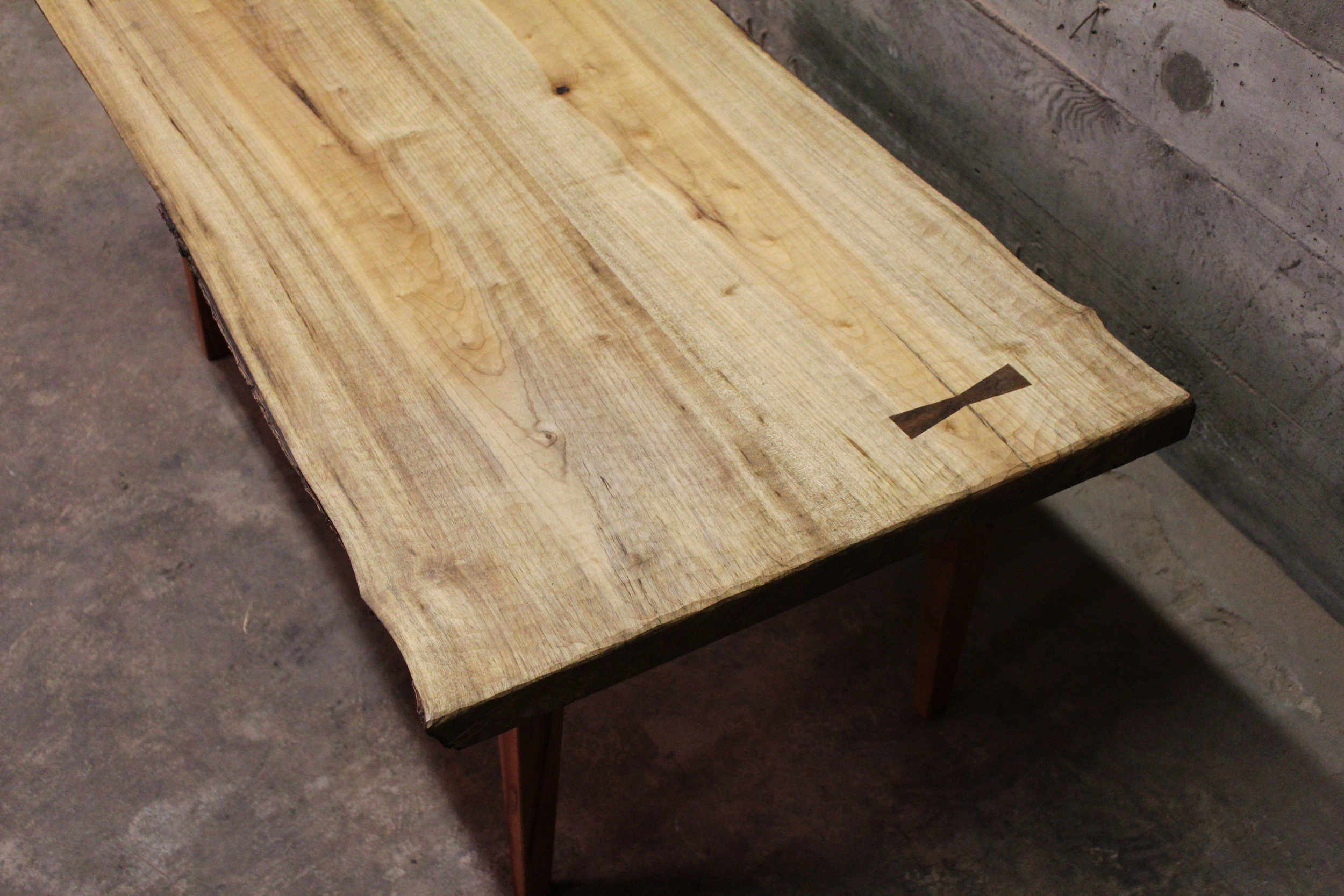 Myrtle & Madrone Coffee Table - A 42