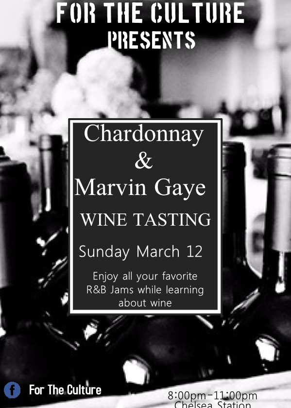Chardonnay and Marvin Gaye - We had a wine tasting event lead by wine connoisseur Mike Sheridan from Chelsea Station Restaurant…
