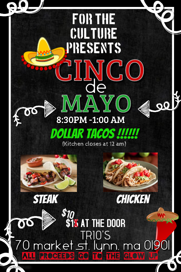 Cinco De Mayo 2017 - For The Culture Media partnered with local restaurant Trio's Mexican Grill…