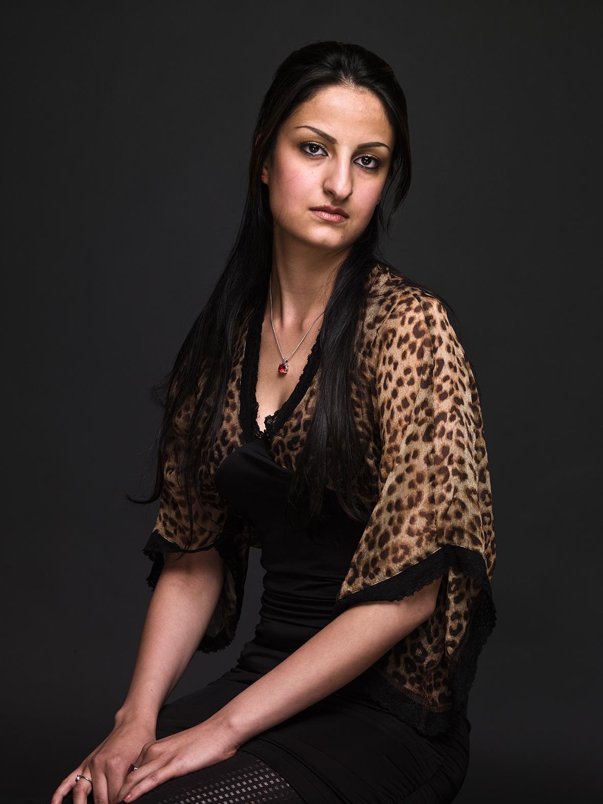 Mozhdeh Firoui, 2011 © Koos Breukel