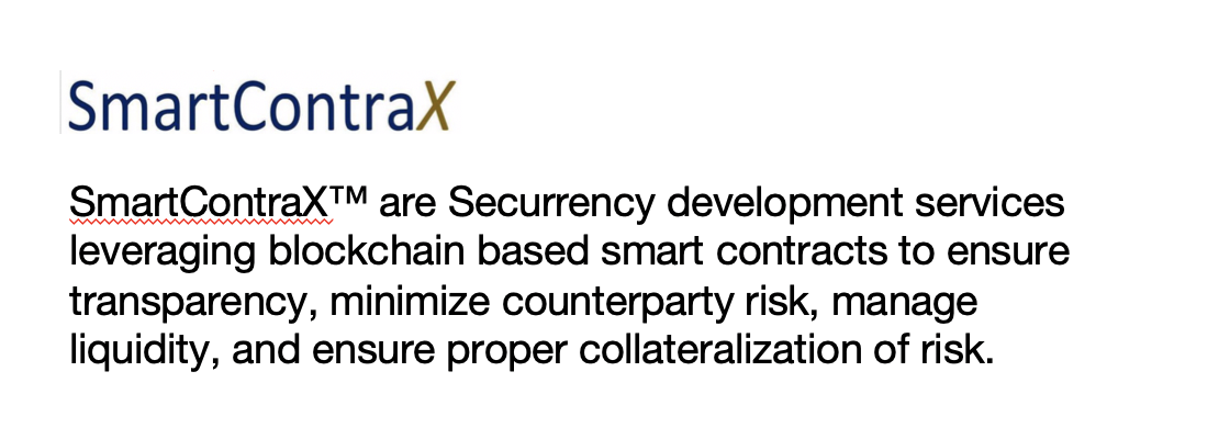 Securrency LABS - Securrency Labs is built around the far-reaching vision and ingenious architecture of Chief Architect Dan Doney. Securrency Labs creates the core infrastructure and ideates key capabilities for productization and commercialization. Securrency's market infrastructure technology is already built-out and is delivering market-ready solutions