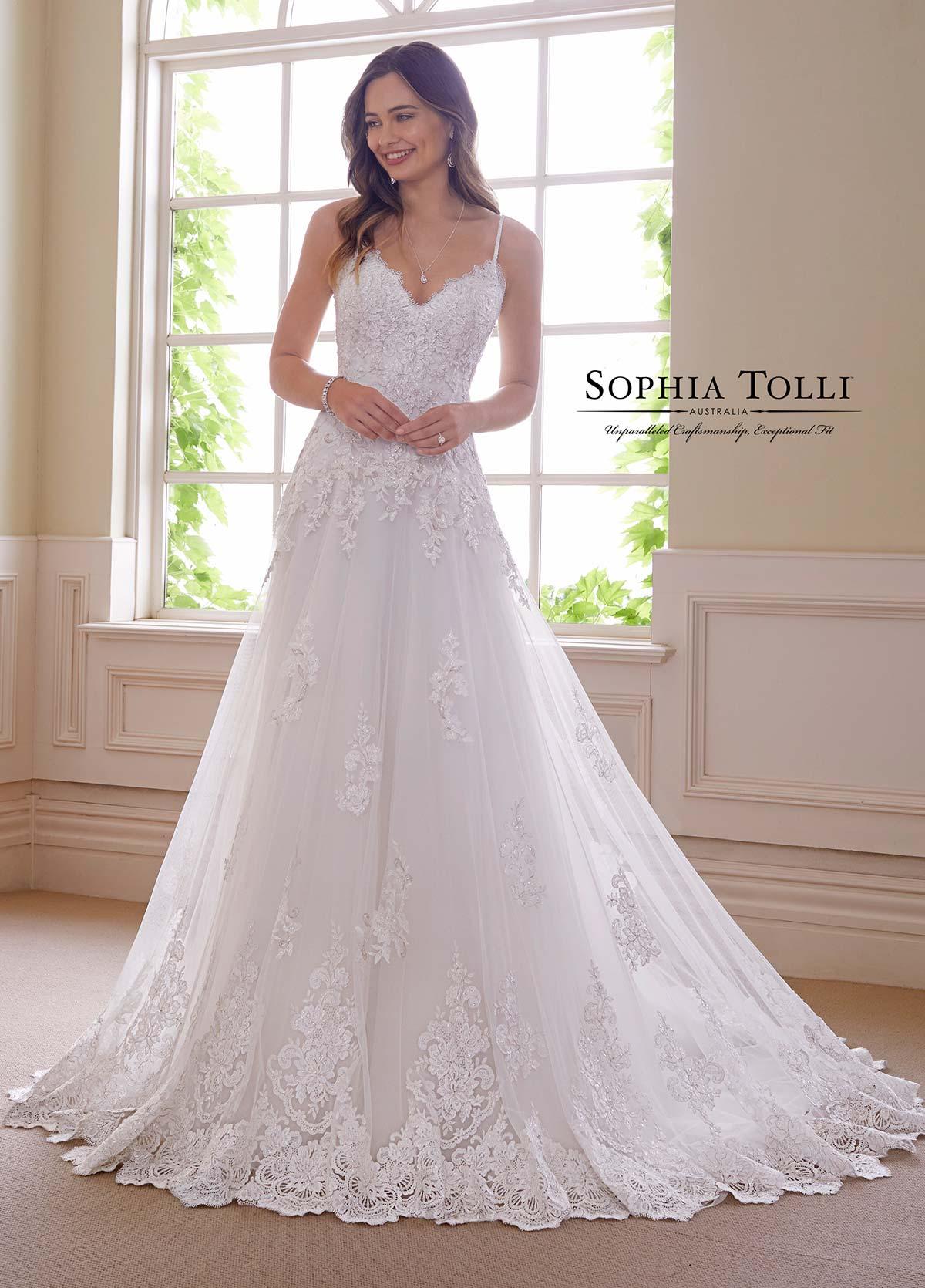 Sophia Tolli Y21810b Obsidian Dress Madamebridal Com