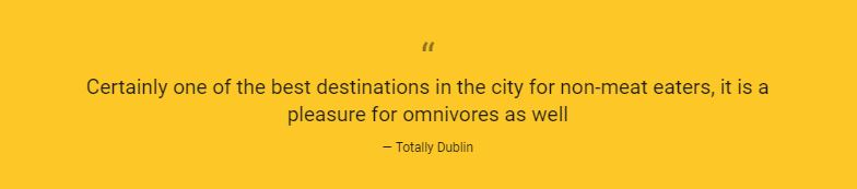 Quote extract Totally Dublin