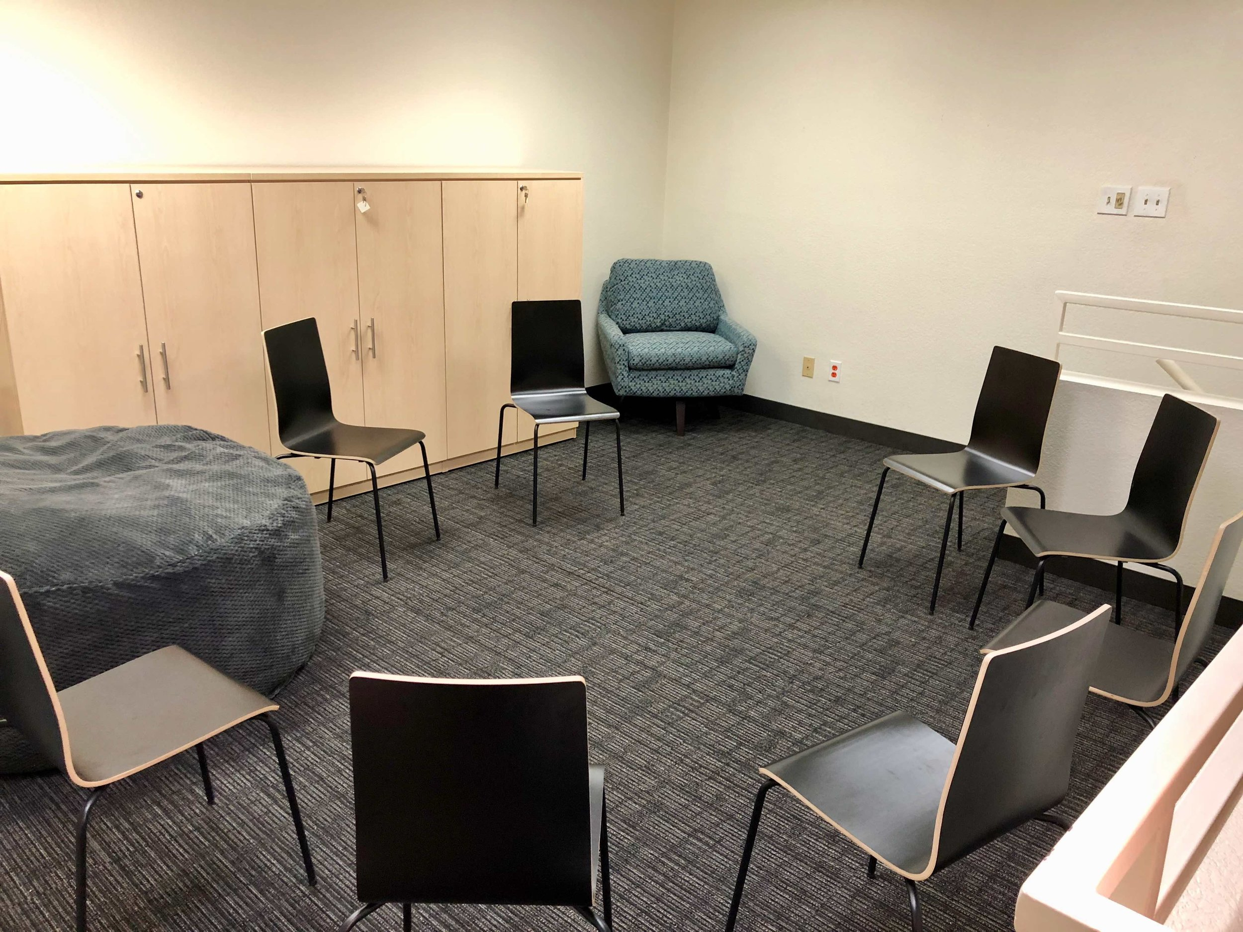 Open loft for meetings or groups