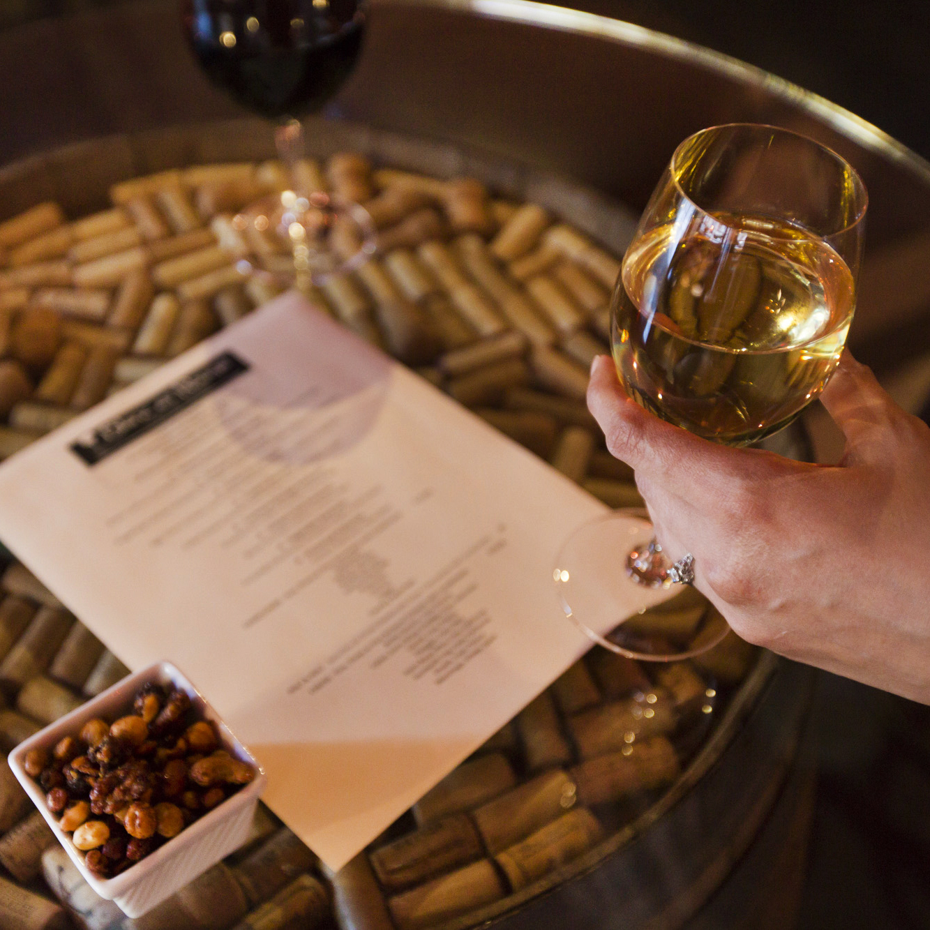 Wine List by the glass -