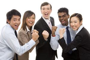 Motivated, purpose-drive, engaged, stress-free, flourishing professionals