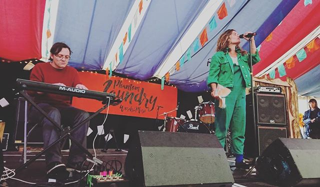 Last festival of the season and I curated a whole three days of workshops, spoke poems alongside this humongous human, hung out with the best people out there and came home with both nothing and everything. Yes Phantom Laundry, we did it. @shambalafest #poetry #workshop #writing #creativity #festival #love