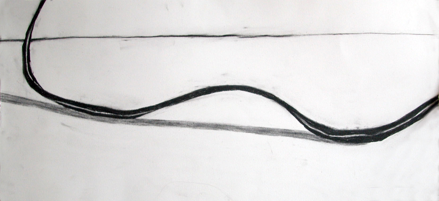 no. 33, 2002  charcoal on paper