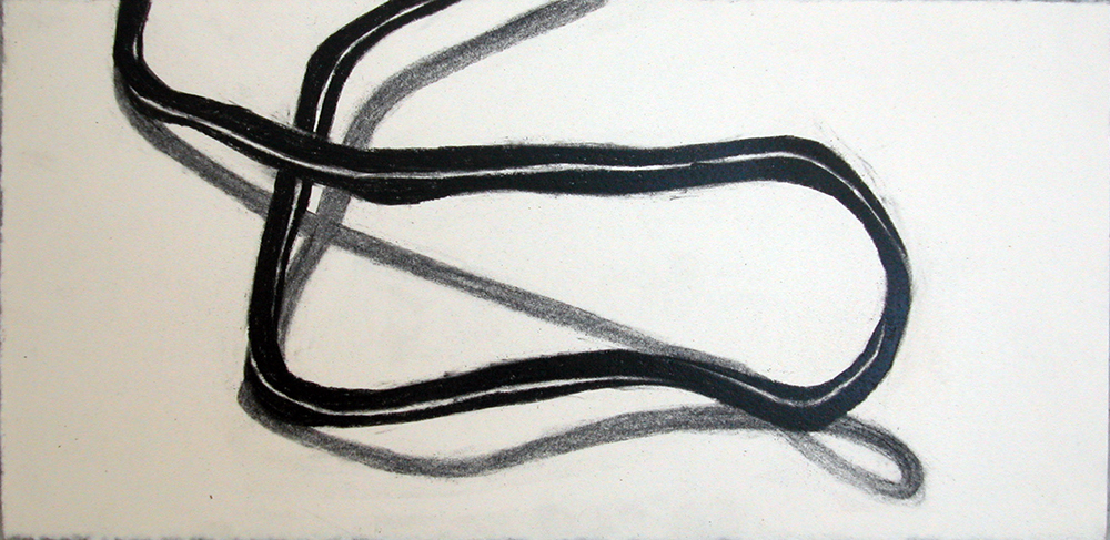 no. 76, 2006  charcoal on paper