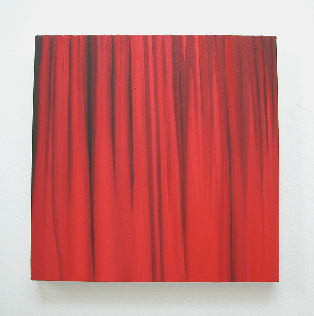 Red, 2007  oil on canvas  49 x 49 cm