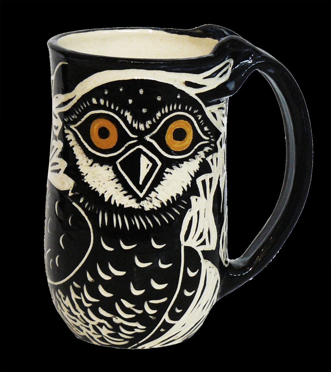 Burrowing Owl Mug - Click for more Air Mugs