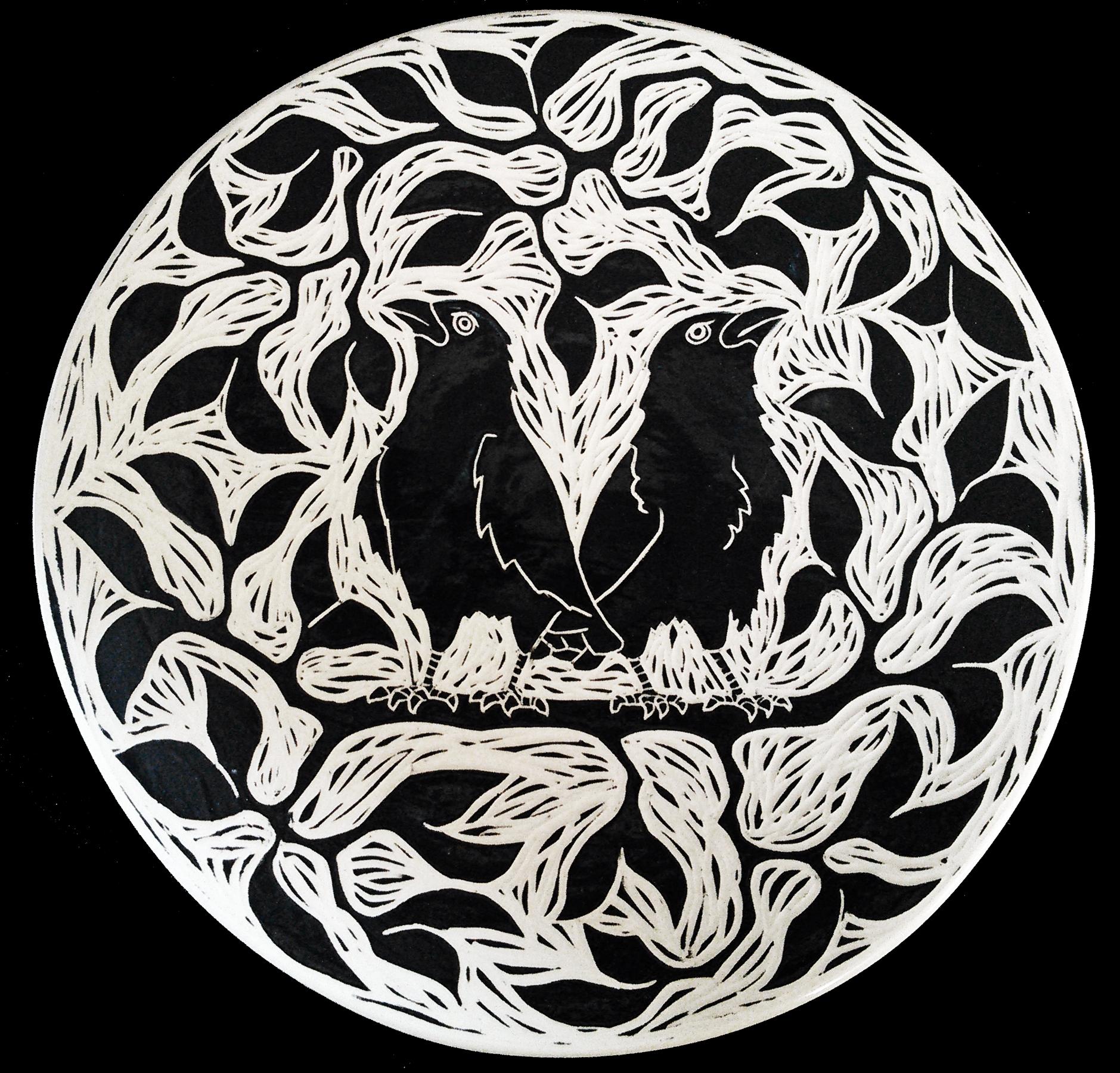 2 Crow Plate