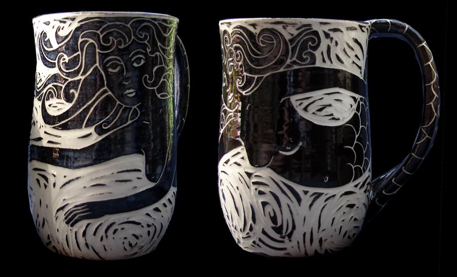 Mermaid Mug - Click for more Water Mugs