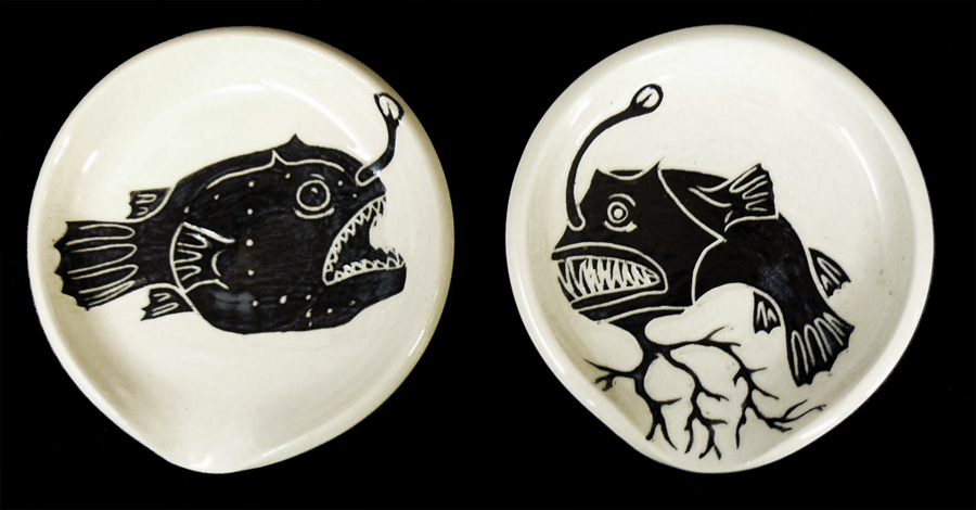 Angler Fish Spoon Rests
