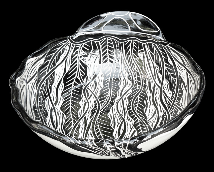 Jellyfish Medium 3D Bowl