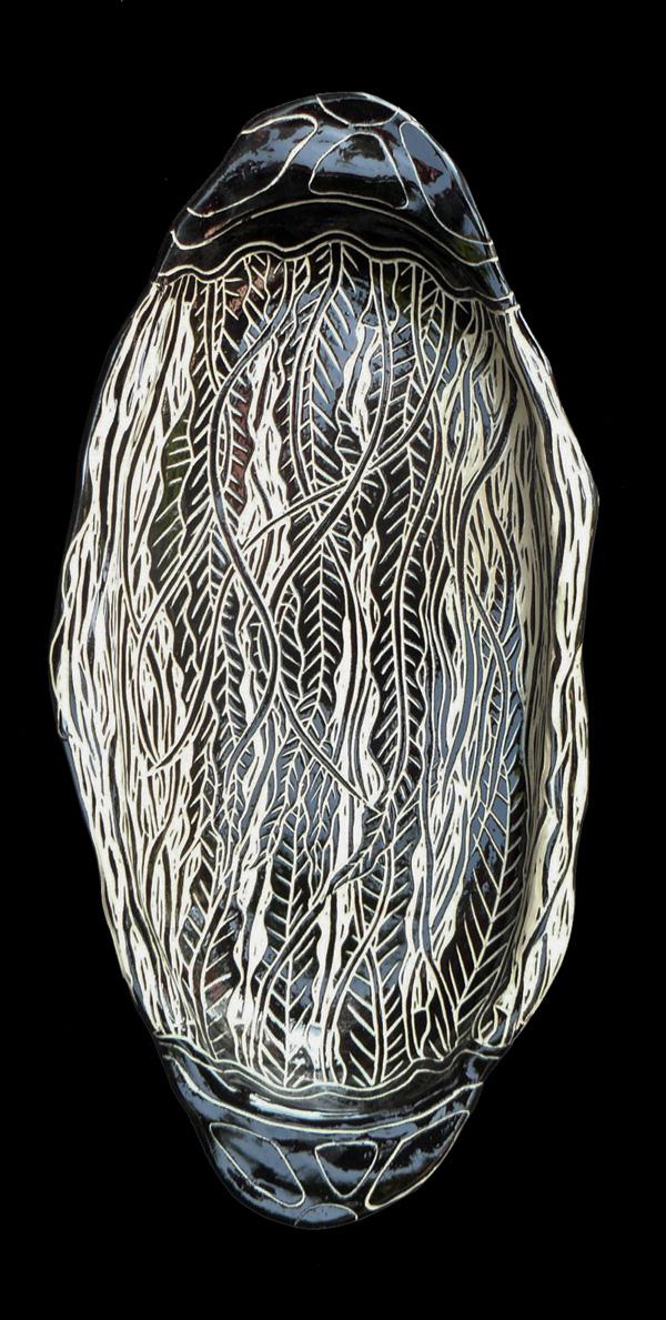 Long Jellyfish Platter 3D