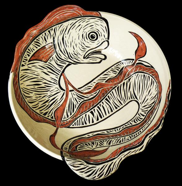 Oarfish Large 3D Bowl