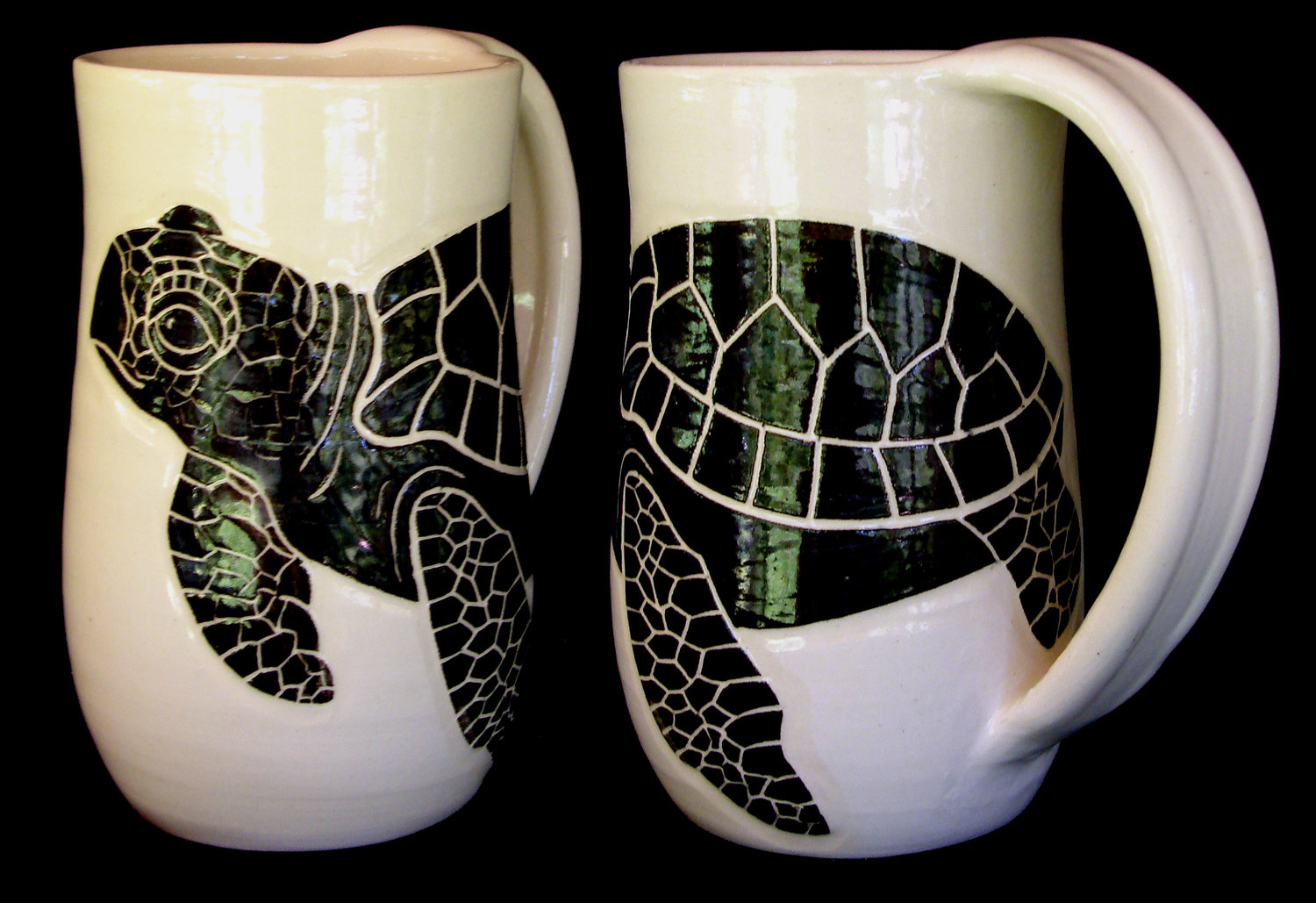 Turtle-  Click for more Water Themed Mugs